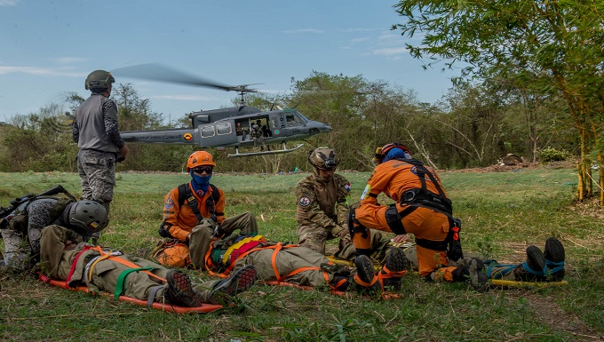 621st AMAG participates in multilateral exercise