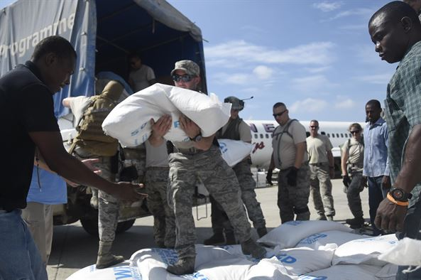 JTF-PO delivers humanitarian aid to Matthew's victims