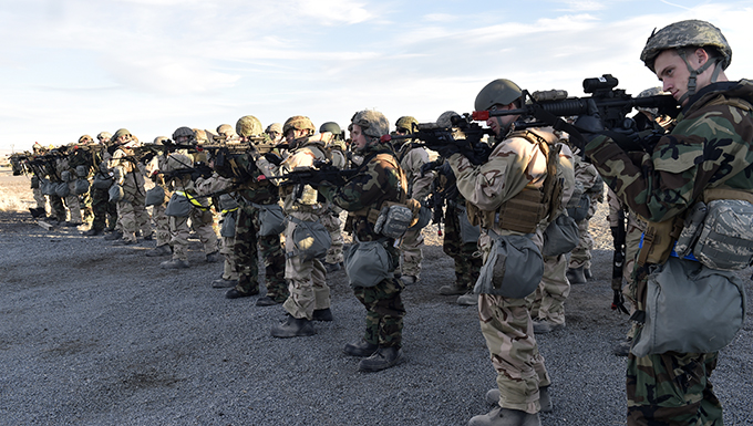 Airmen test readiness during training exercise