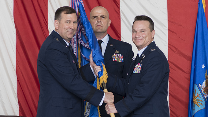 Marshall assumes command of the CRW