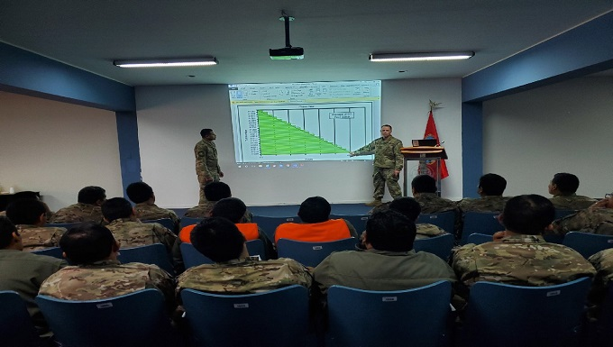 Air Advisors deliver Aircraft Maintenance Leadership and Quality Assurance course to Peruvian Air Force