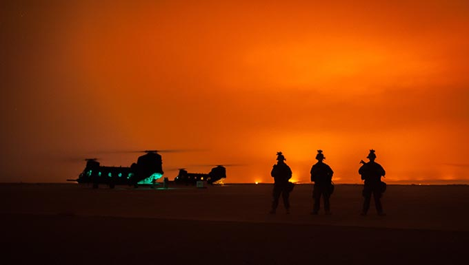Devil Raiders sustain air operations at Q-West