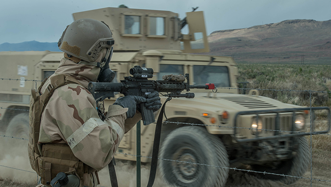 821st CRG test ability to operate in austere locations during C-Strike